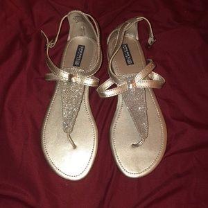 Silver Sperry Summerlin Girls Sandals